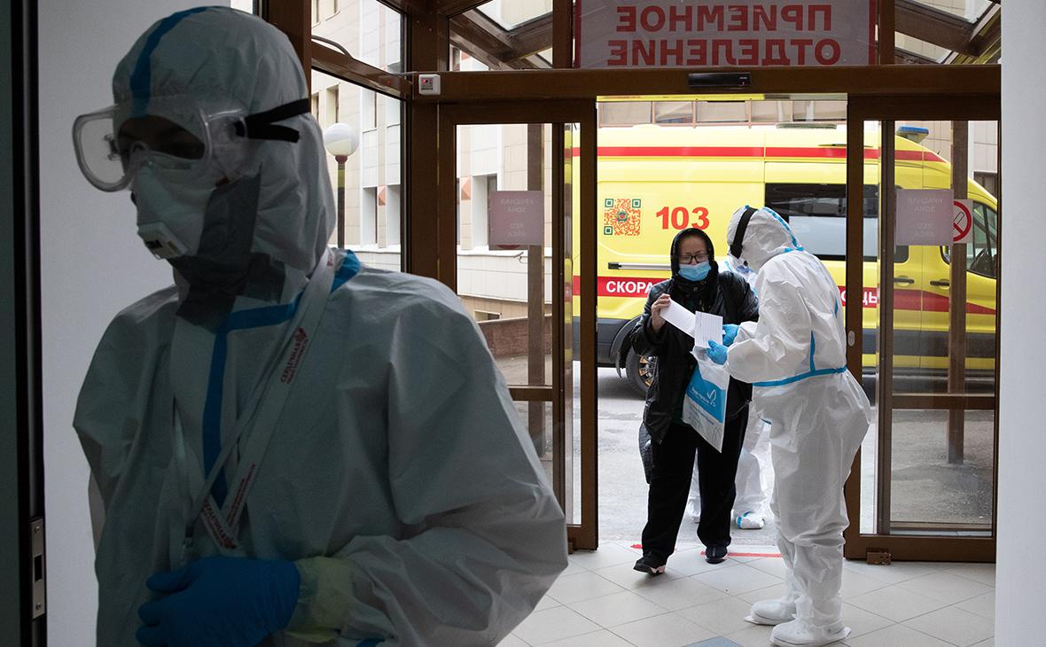 В России выявили 8,8 тыс. новых зараженных коронавирусом