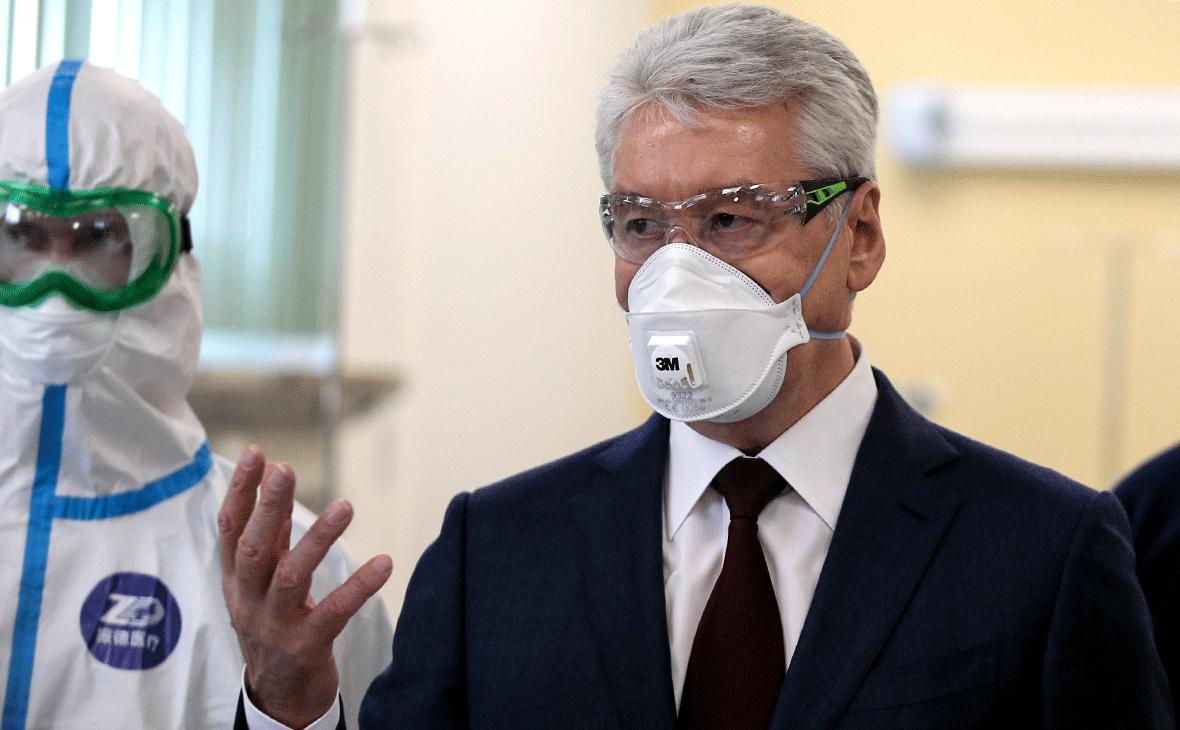 Собянин допустил усиление ограничений в Москве из-за коронавируса