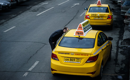 Московский рынок такси вырос загод более чемвдва раза