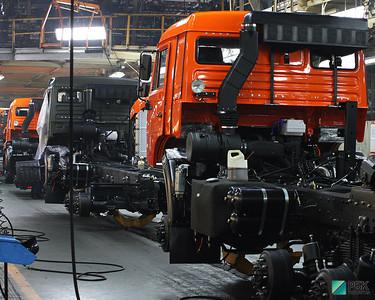 «Камаз» с начал года увеличил продажи в РФ на 20% до 12,9 тыс. грузовиков