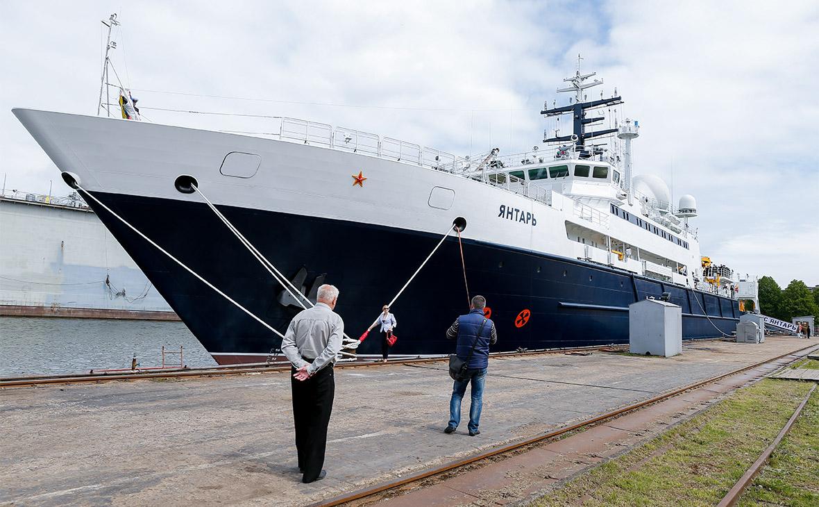 Минобороны направило судно «Янтарь» для поиска аргентинской подлодки