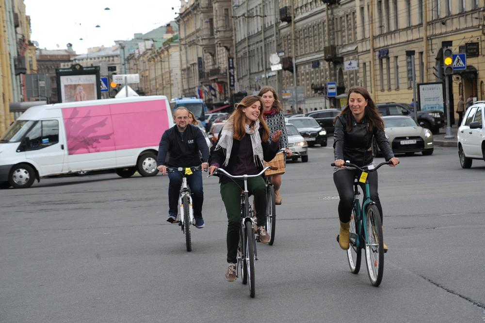 В Петербурге создают онлайн-карту веломаршрутов