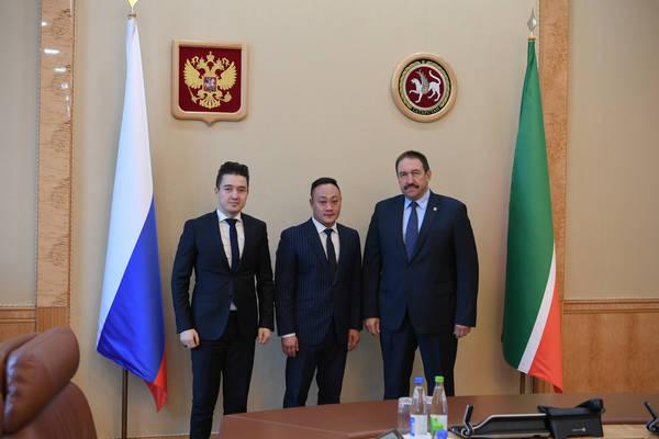 Китай готов представить продукты питания из Татарстана на World Food City