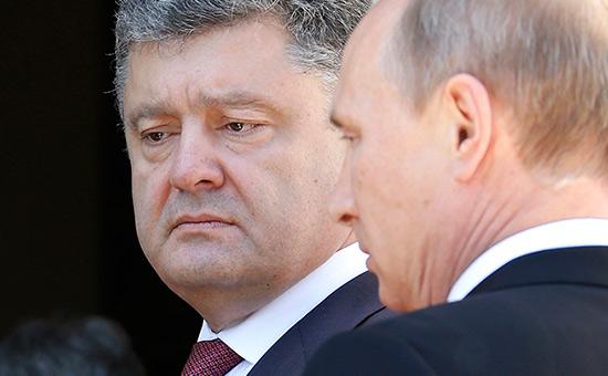 «Коммерсантъ» узнал тему тайных телефонных разговоров Путина иПорошенко