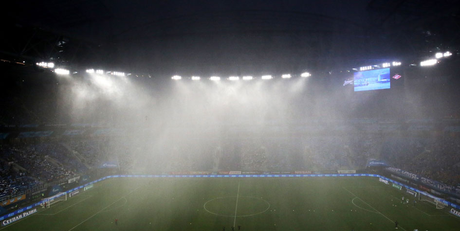 Роберто Манчини прокомментировал сообщения о протекающей крыше на арене