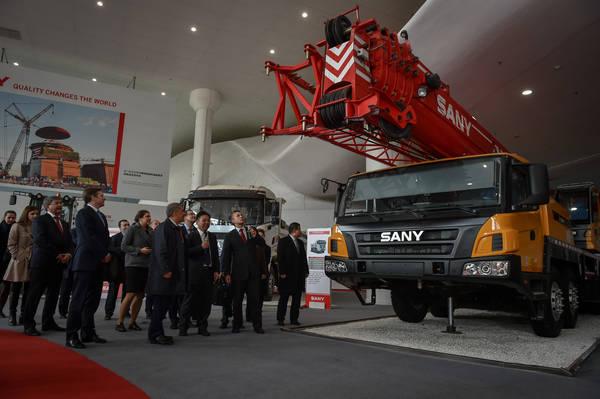 Sany Group рассмотрит производство спецтехники на базе шасси «Камаза»