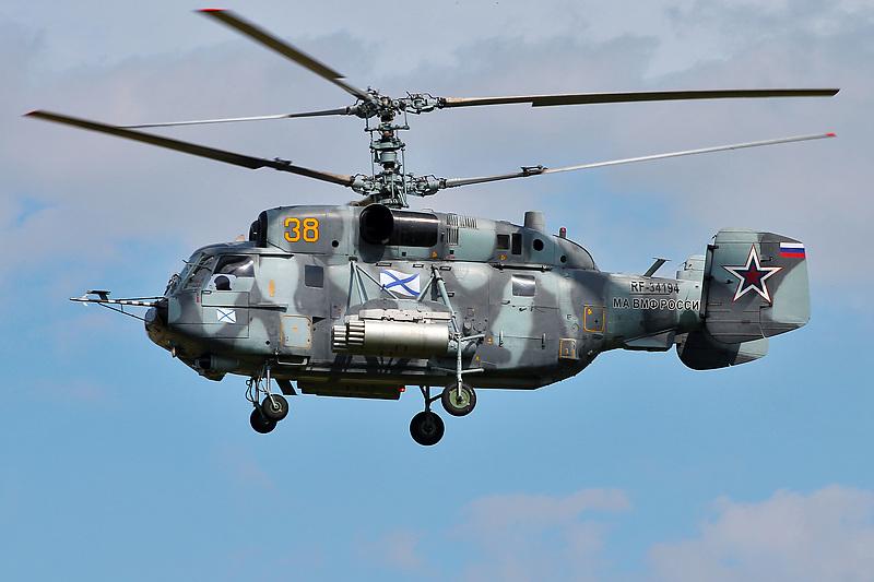На Балтике разбился военный вертолет