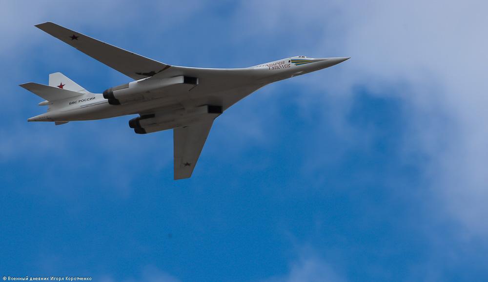 Новый ракетоносец Ту-160М поднимут в небо Казани в день приезда Путина
