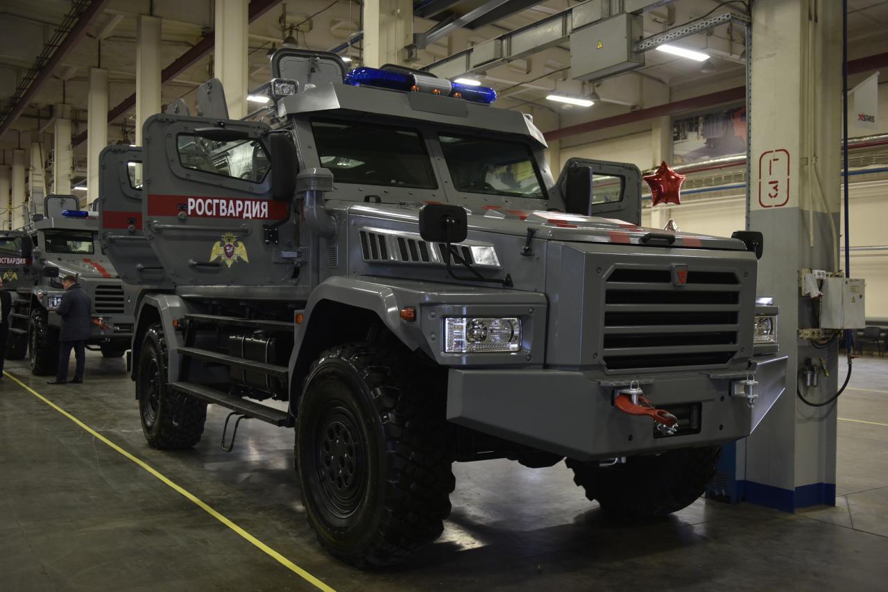 Росгвардия получила первую партию бронеавтомобилей из Набережных Челнов