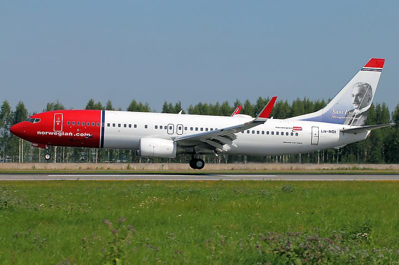 Норвежская авиакомпания пытается изменить условия полетов над Россией