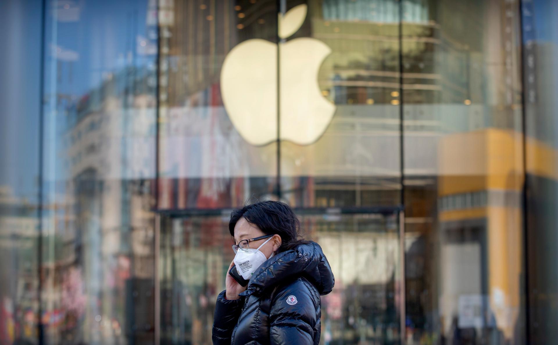 Apple понизила прогноз по квартальной прибыли из-за коронавируса