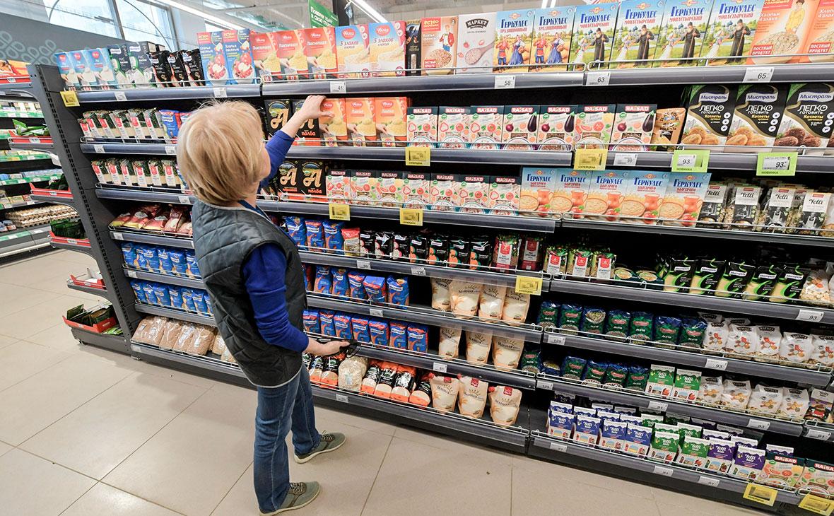 Вице-премьер заявила о прохождении пика спроса на продукты в России