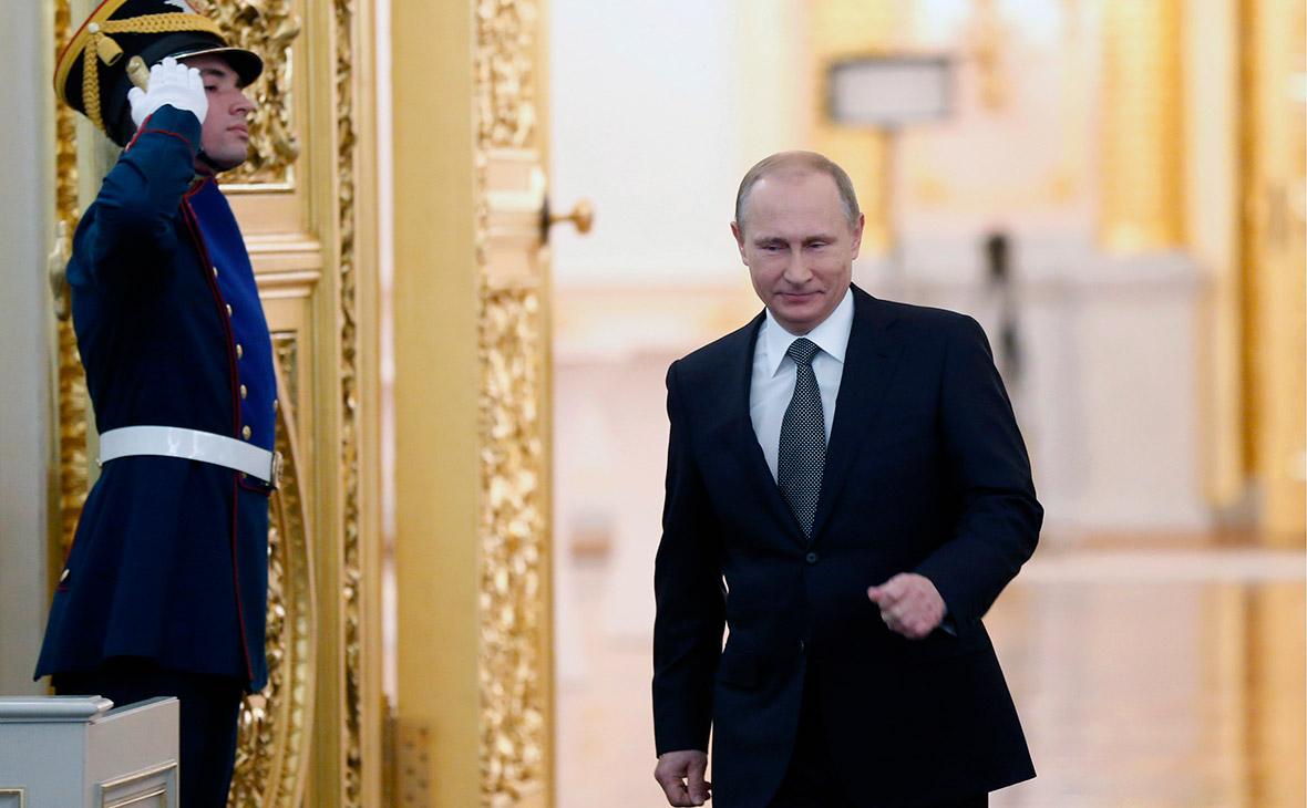 В штабе Путина назвали дату обращения к Федеральному собранию