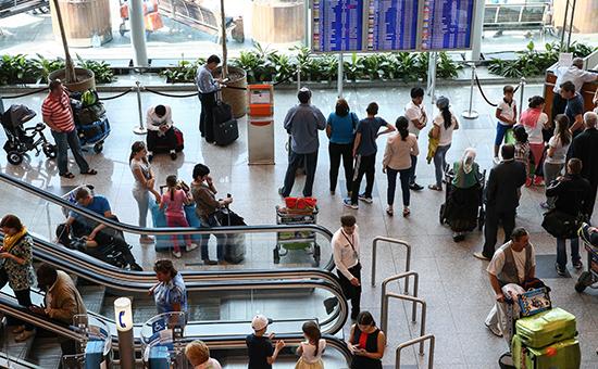 Россияне стали реже летать за границу в 2016 году