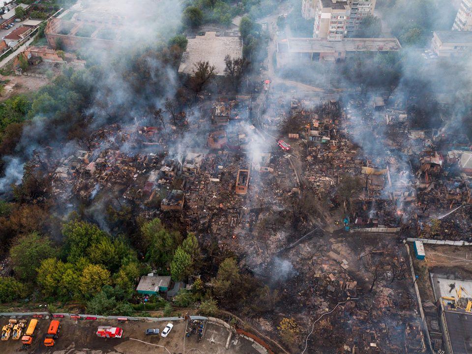 Василий Голубев предложил властям Ростова не застраивать место пожара