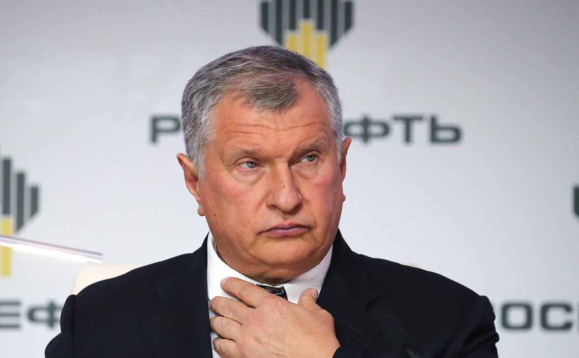 Сечин ответил на жалобу конкурентов Медведеву