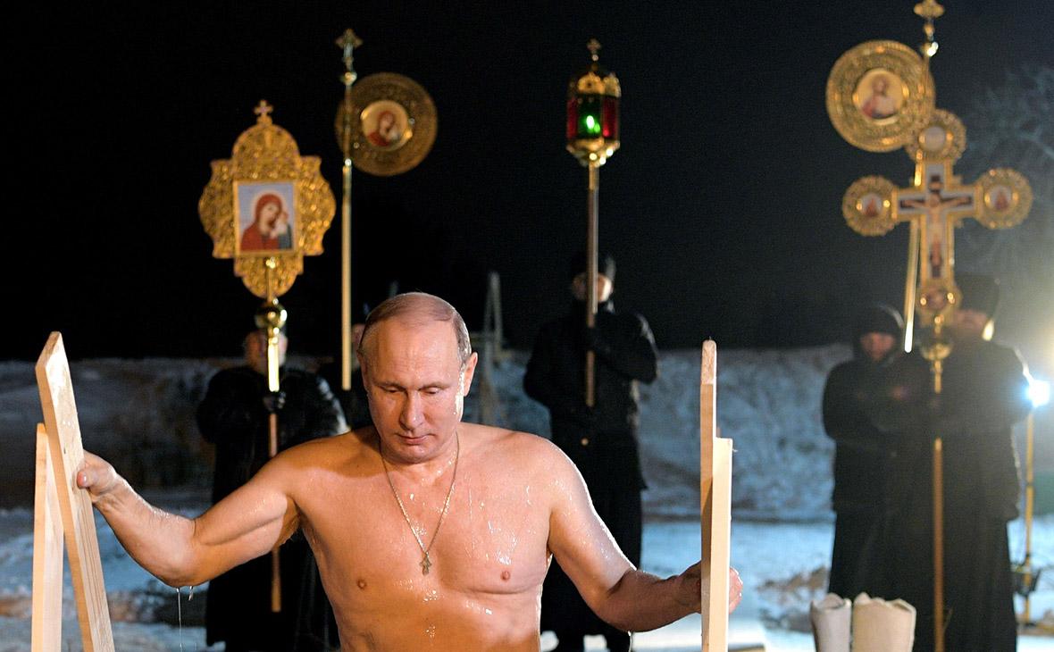 Иеромонах рассказал о подготовке Путина к крещенскому купанию