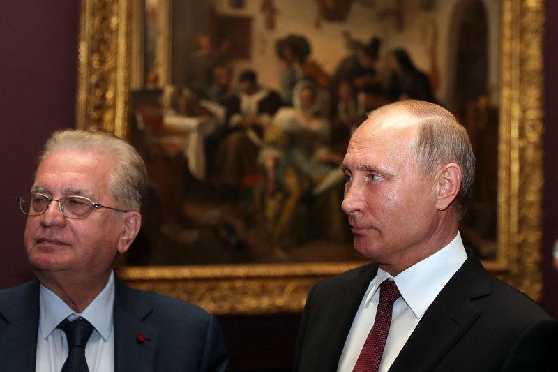В Петербурге закрыли Эрмитаж из-за визита Путина и канцлера Австрии