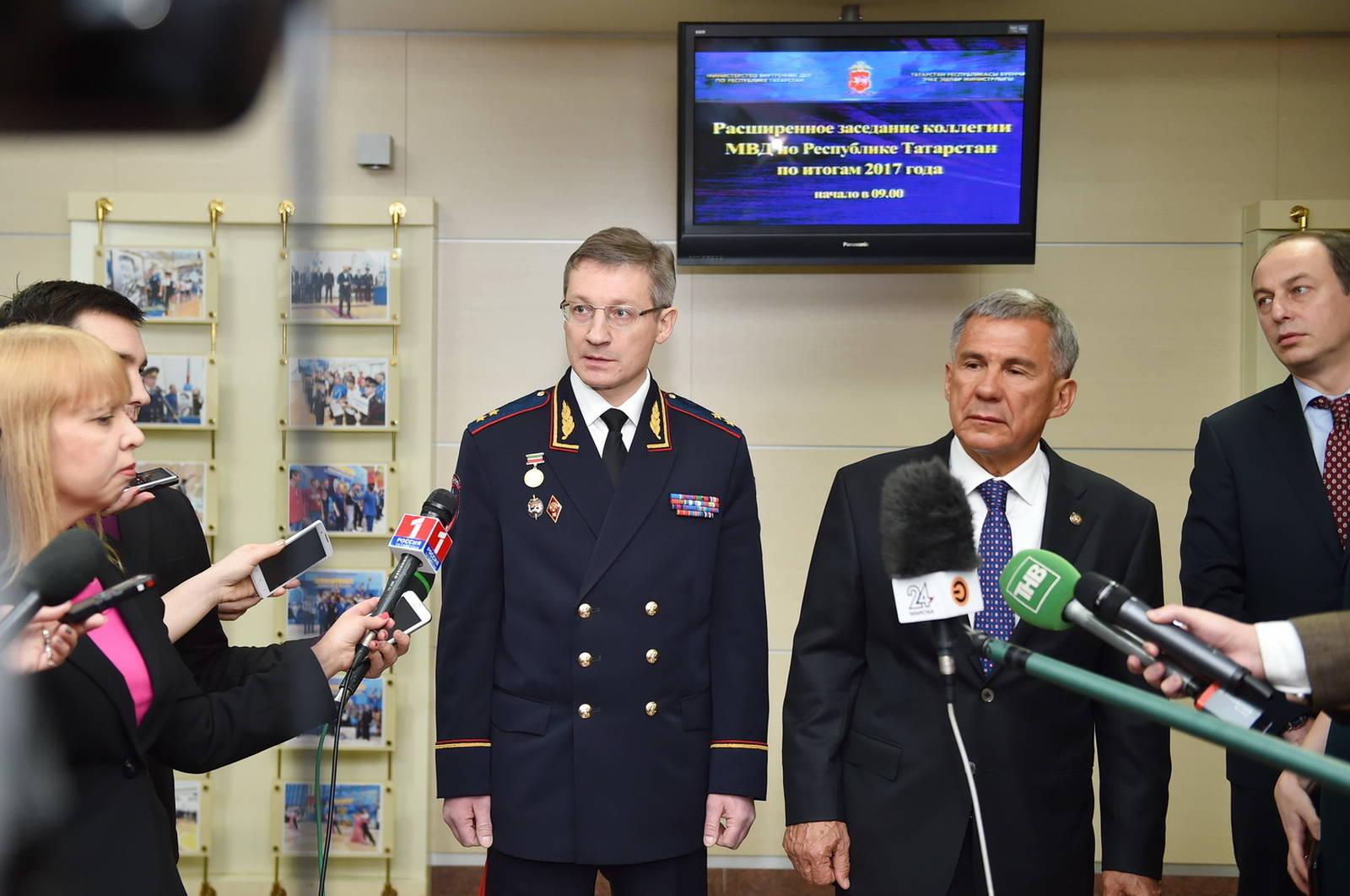 Минниханов поблагодарил МВД за раскрытие убийства лыжницы в Нижнекамске