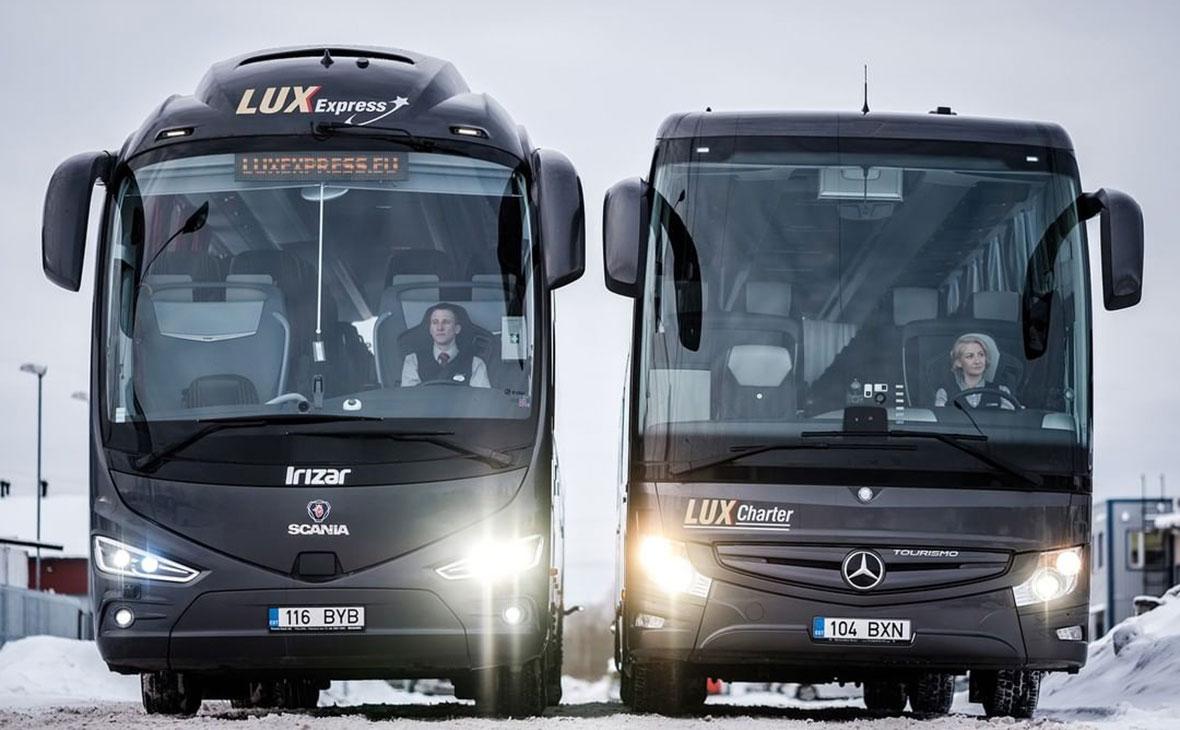 На автобусы из Финляндии и Прибалтики перестали пускать граждан КНР