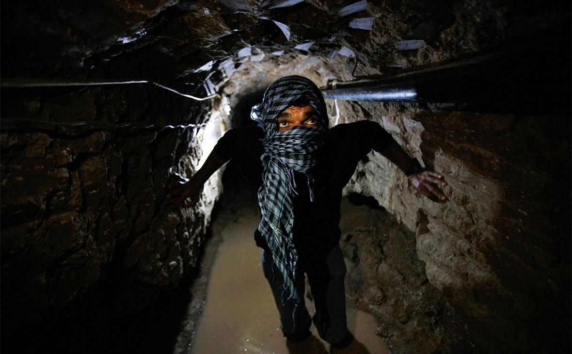 Израиль разбомбил проложенный из сектора Газа подземный тоннель ХАМАС