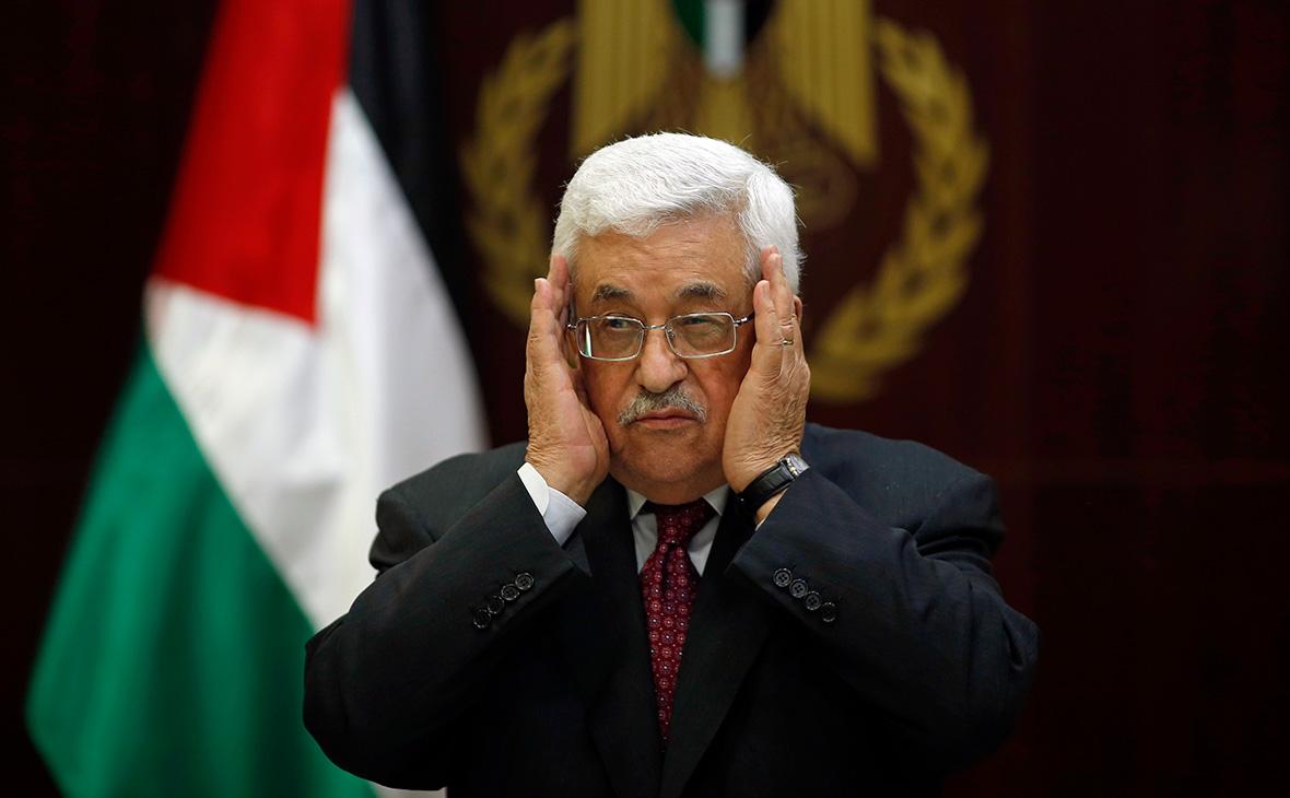 Лидер Палестины призвал страны мира отозвать признание Израиля