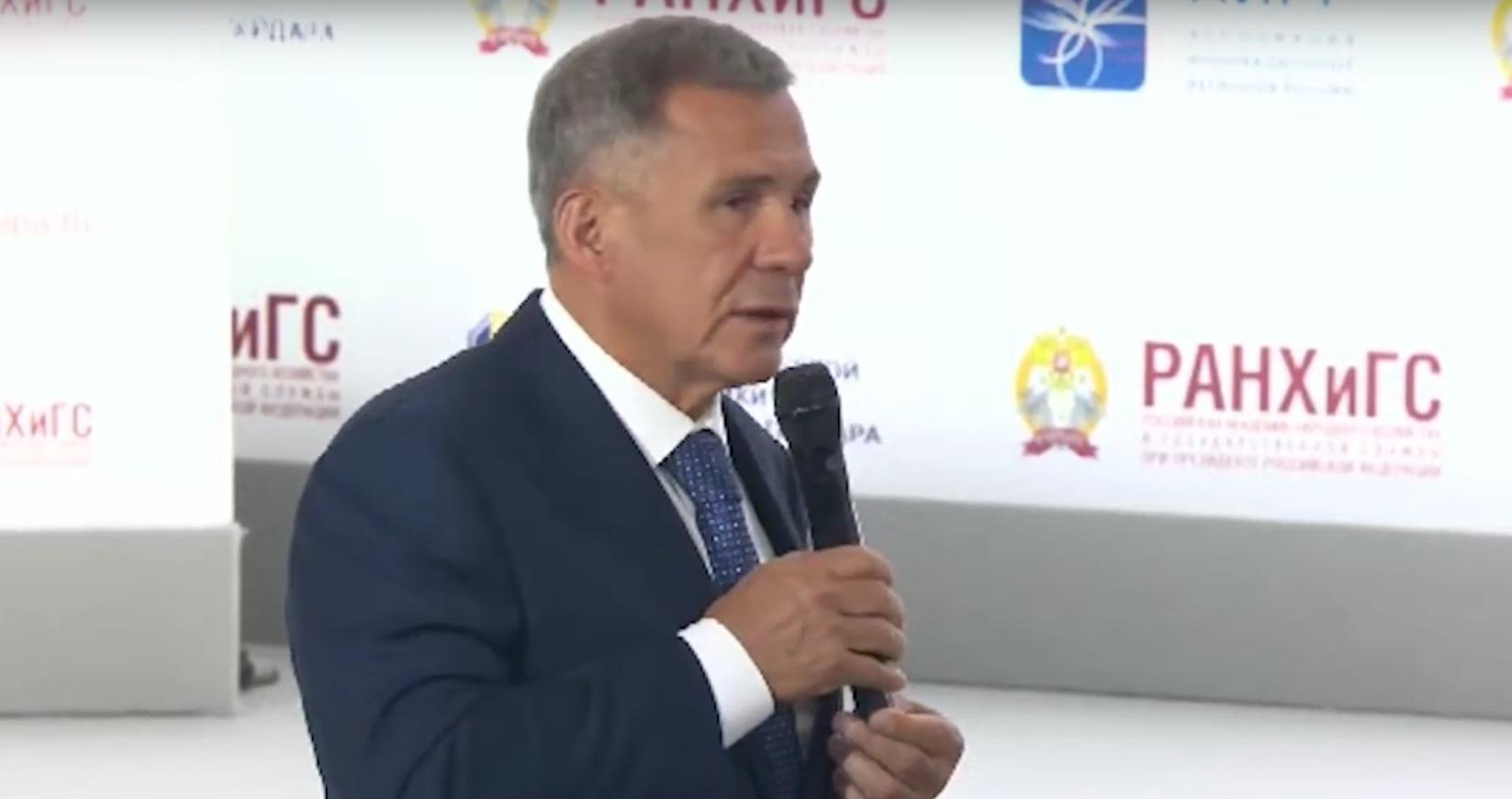 Минниханов попросил дать передышку регионам от налоговых реформ