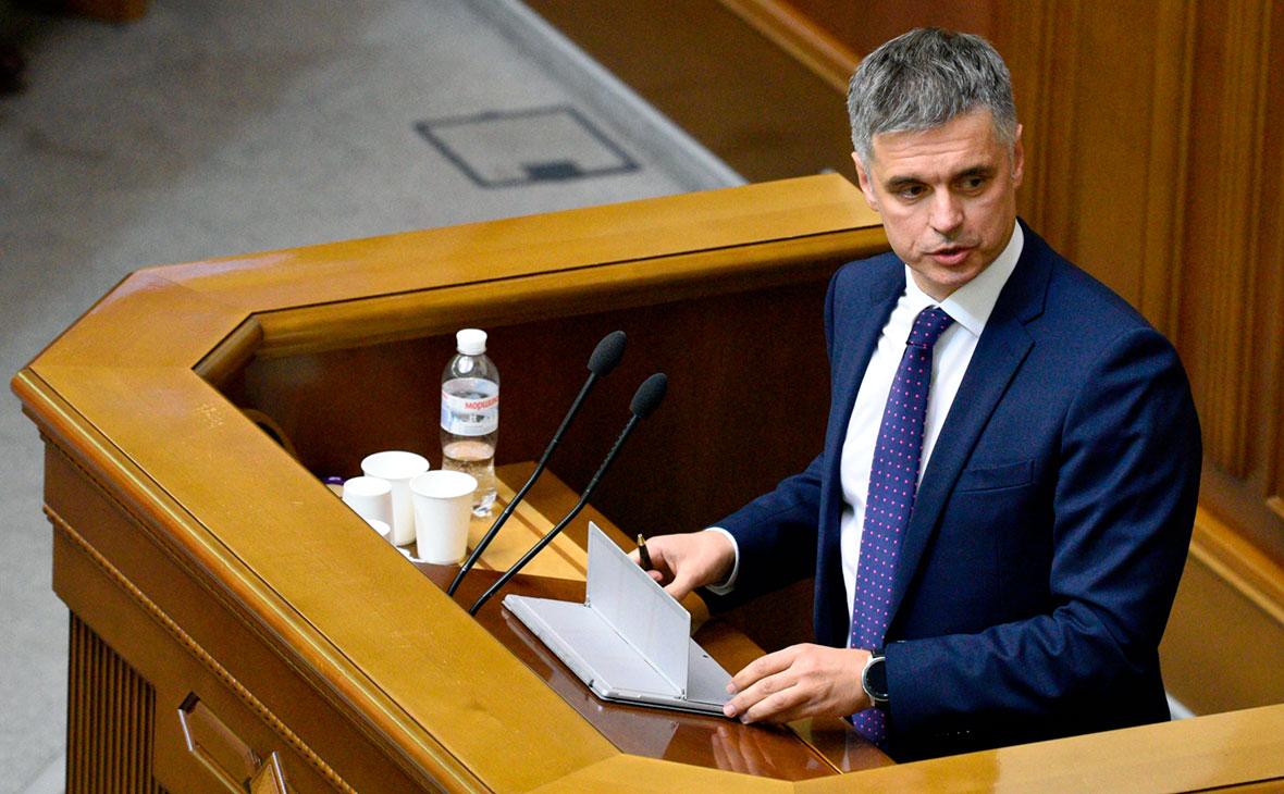Рада уволила экс-главу МИД Украины Пристайко с поста вице-премьера
