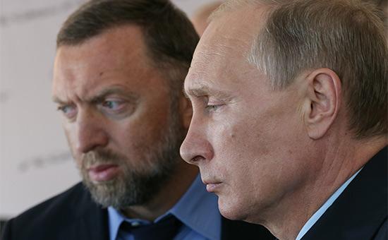 Путин разрешил Дерипаске защититься отнападок вконгрессе США