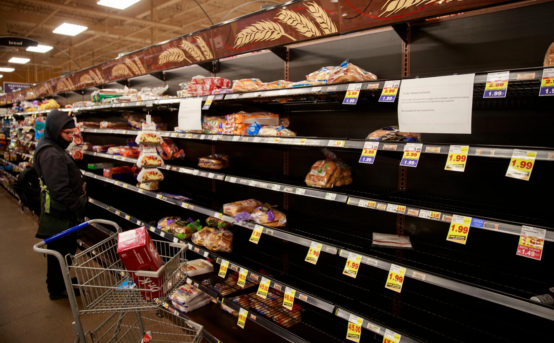 ФАС опровергла информацию о согласовании повышения цен на хлеб и макароны
