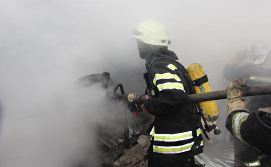 На Украине потушили пожар накрупнейшем военном складе