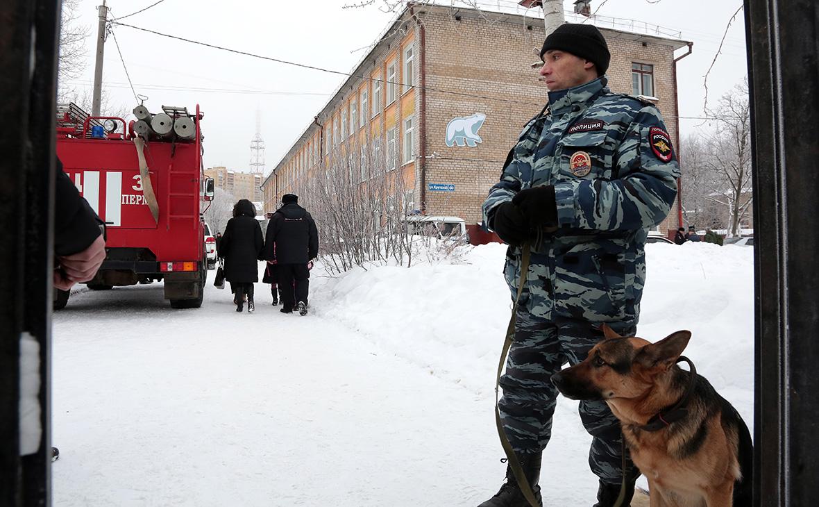 Охранное предприятие сообщило детали нападения на школу в Перми