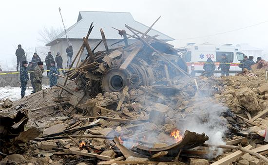Что известно о крушении турецкого самолета в Киргизии