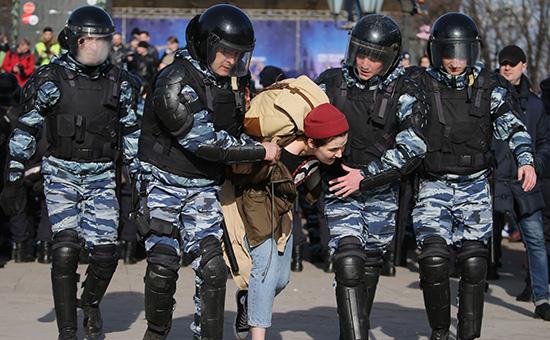 Как проходила антикоррупционная акция вМоскве. Видеообзор