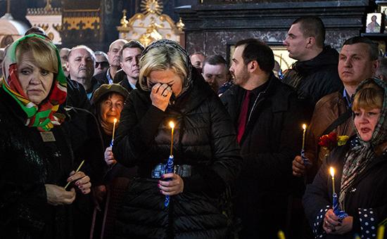 «Он предал коррупцию»: в Киеве похоронили экс-депутата Вороненкова