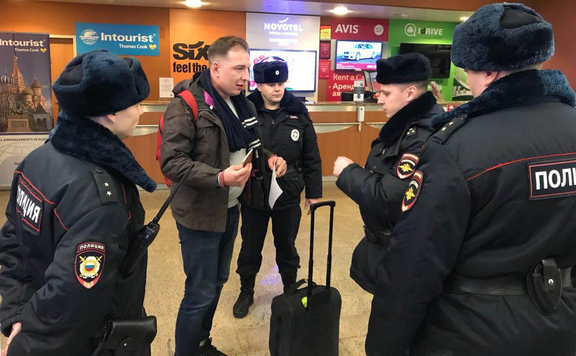 Глава штаба Навального сообщил о задержании директора ФБК