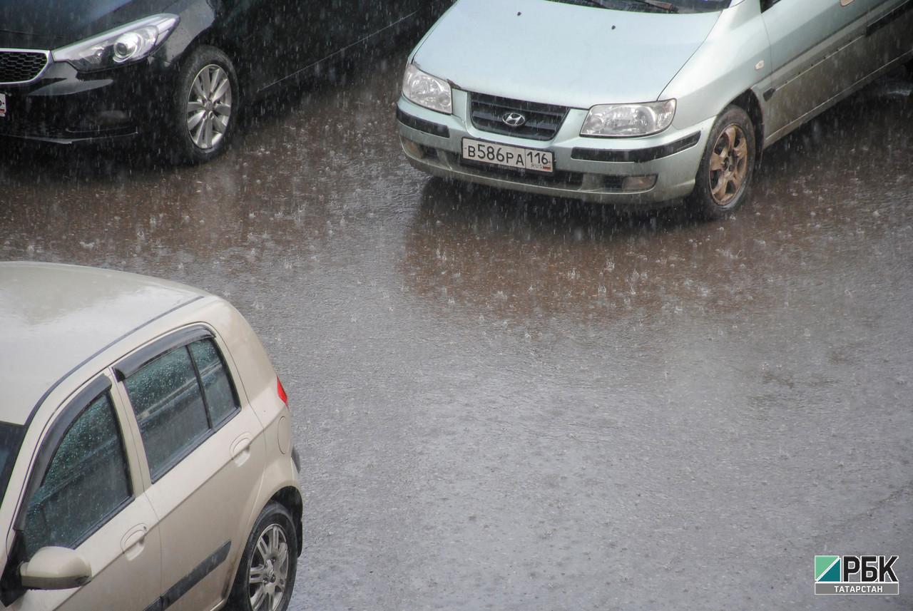 Гидрометцентр прогнозирует в Татарстане сильный дождь