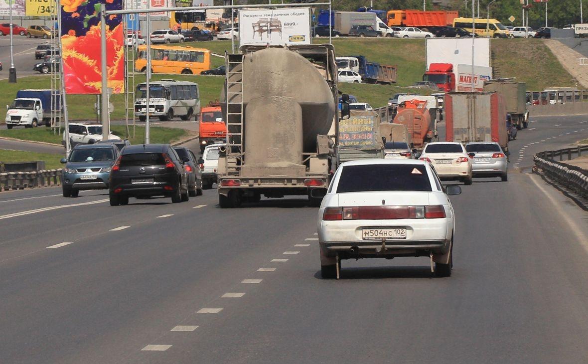 В Уфе на новом мосту через Белую вводится реверсивное движение