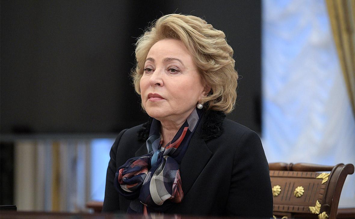 Матвиенко назвала новый украинский закон похоронами минских соглашений