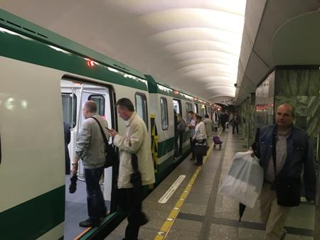 В петербургском метро запустили новые поезда