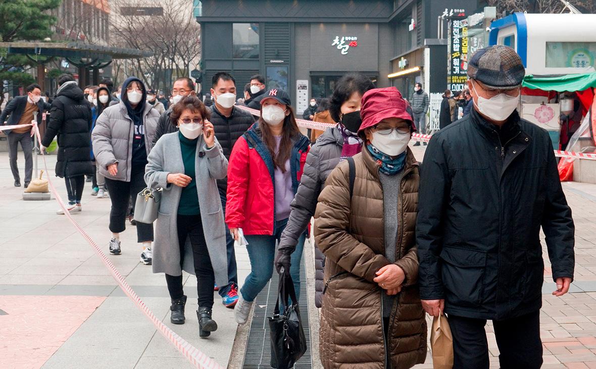 Число зараженных коронавирусом в Южной Корее превысило 4 тыс. человек