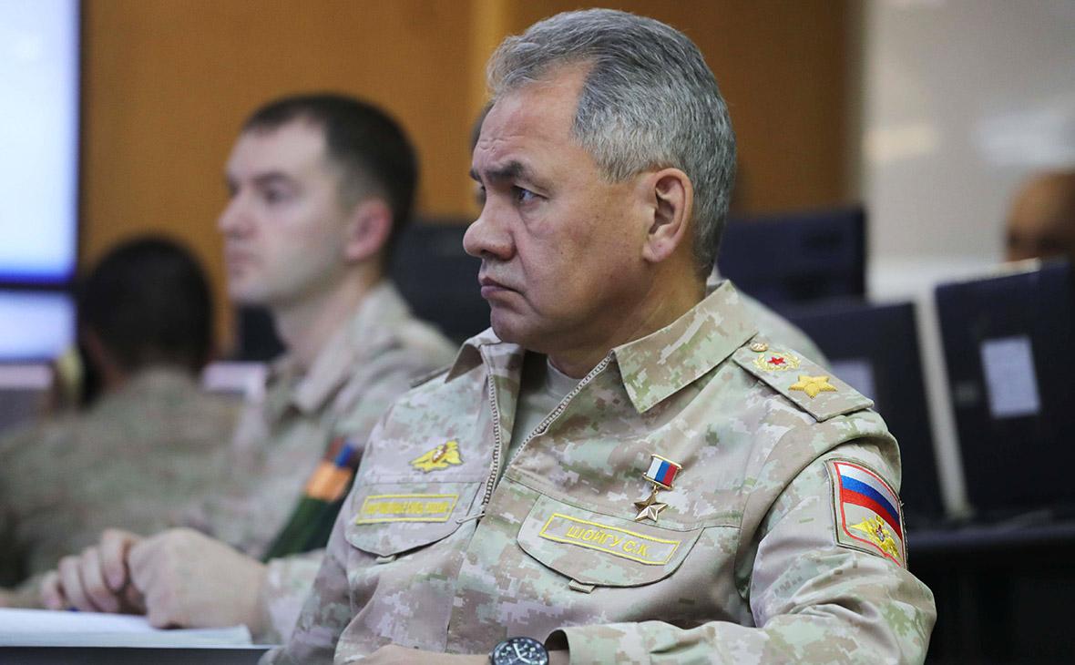 Шойгу заявил о начале возвращения российских военных из Сирии