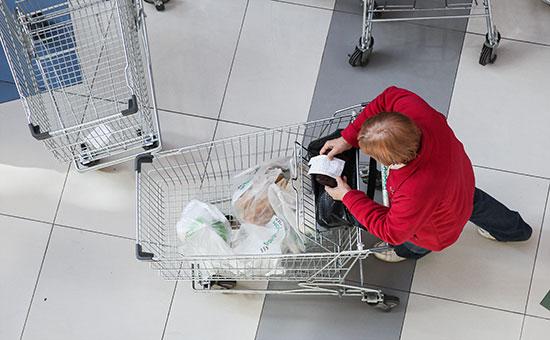 Реальные доходы россиян вапреле упали на7,6%