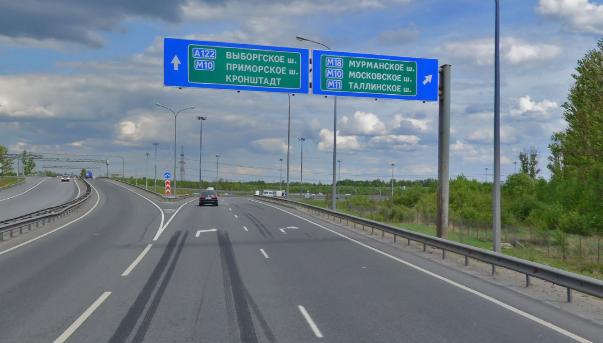 На востоке Петербурга перекроют сразу три съезда с КАД