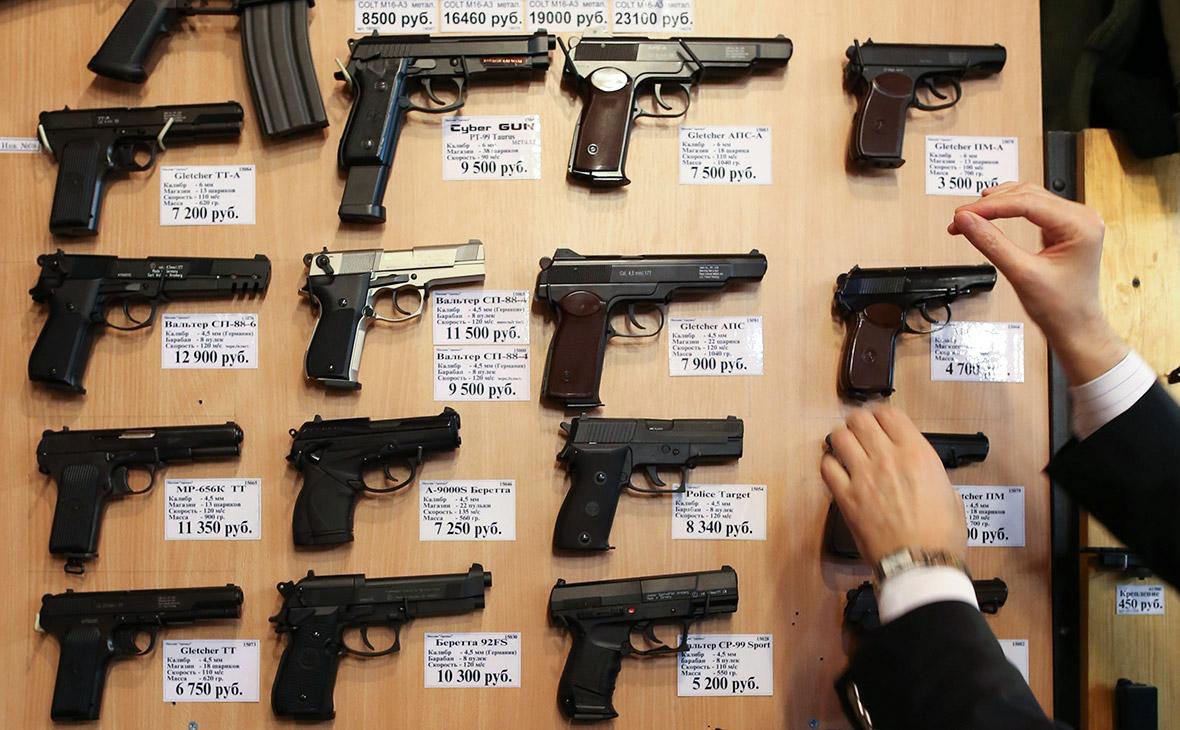 В Думу внесли законопроект о запрете продажи пневматики подросткам