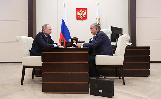 Путин встретится с новыми акционерами «Роснефти» и их кредитором