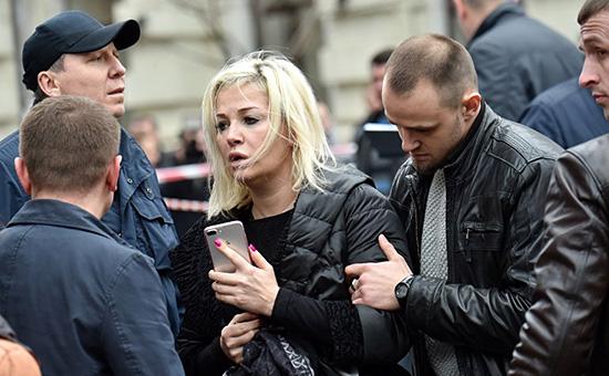Максакова дала первое интервью послеубийства ее мужа Дениса Вороненкова