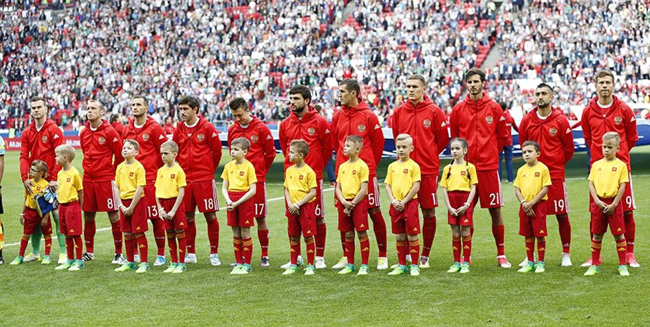 Россия опустилась на рекордно низкую позицию в рейтинге ФИФА