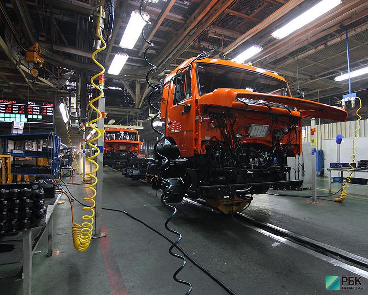 «Камаз» в 2016 году увеличил производство на 21% до 34,5 тыс. грузовиков