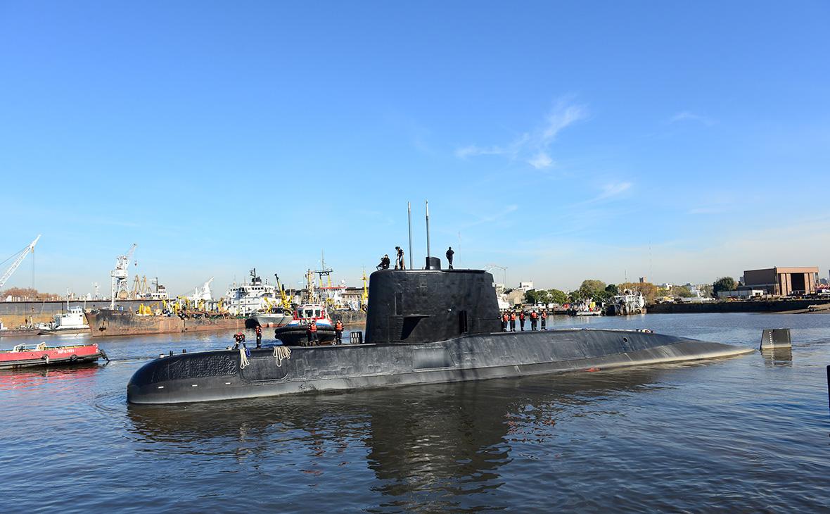 ВМС Аргентины сообщили о возможном взрыве на месте исчезновения подлодки